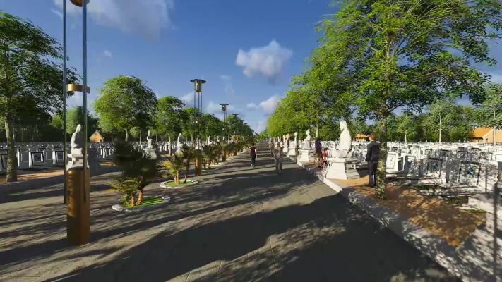 Công viên nghĩa trang Hoàng Kim Nhung